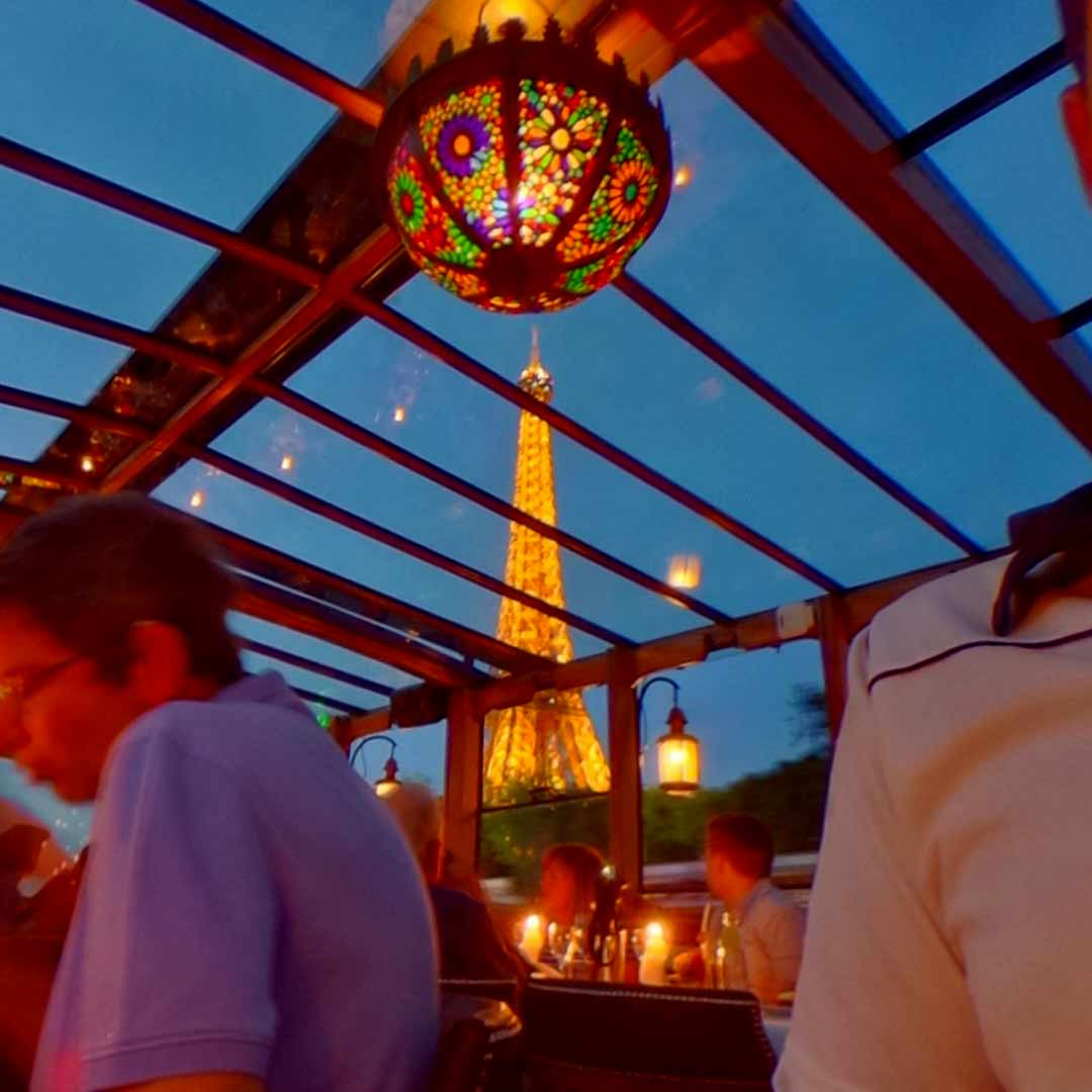 Calife Dinner Cruise on the Seine