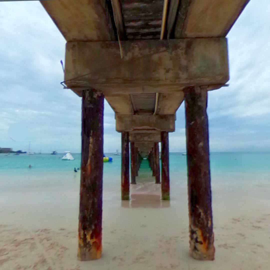 Carlisle Bay Pier in Bridgetown