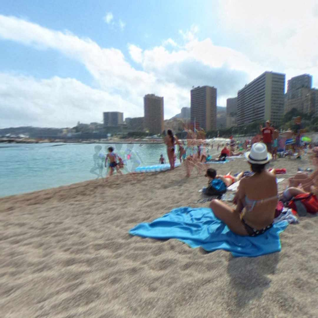 Larvotto Plage Beach in Monaco