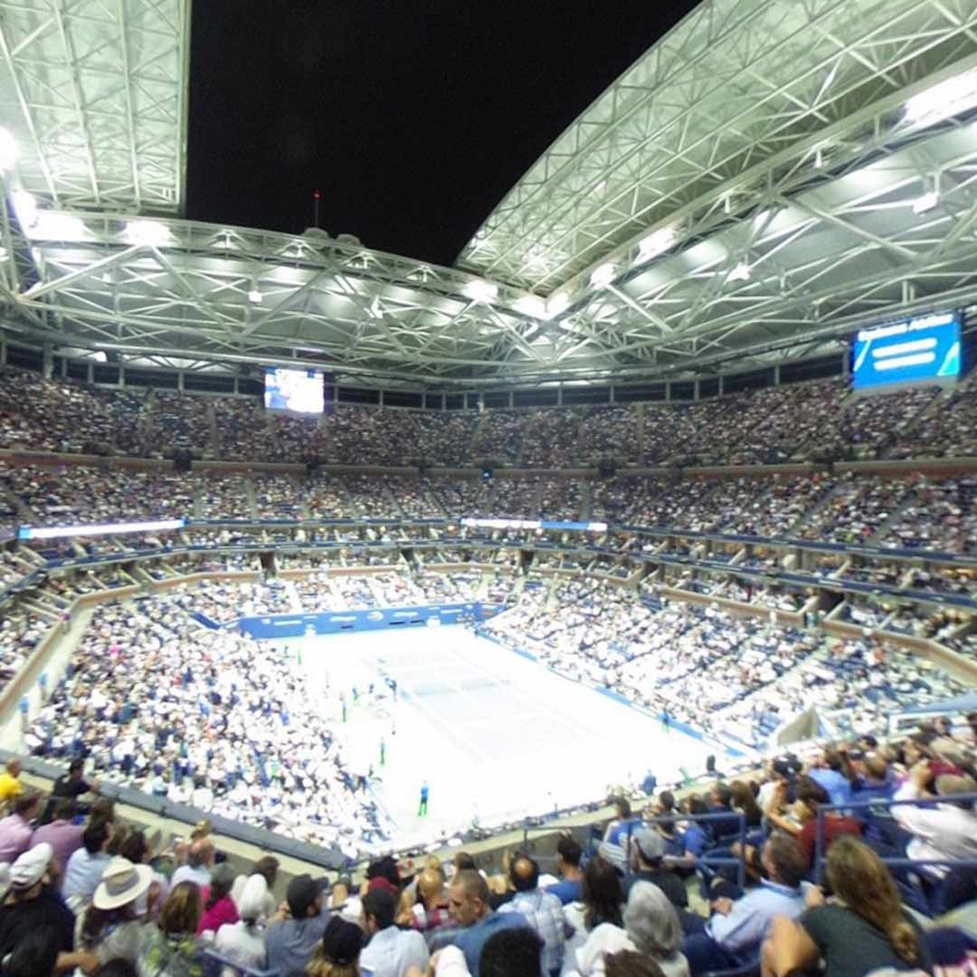 US Open Arthur Ashe Stadium Upper Level