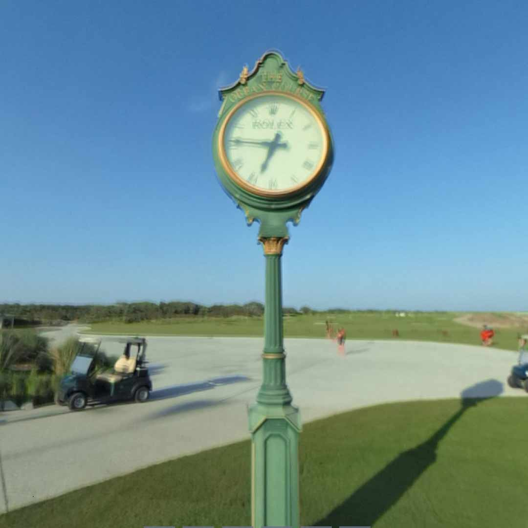 Rolex Clock Outside Ocean Club
